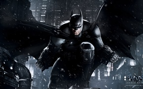 Picture snow, game, batman, Batman, the dark knight, games, Gotham, comic, comics, dark knight, bruce wayne, …