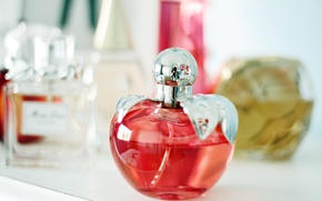 Picture reflection, background, Wallpaper, mood, shelf, widescreen, full screen, HD wallpapers, perfume, widescreen, perfume. perfume