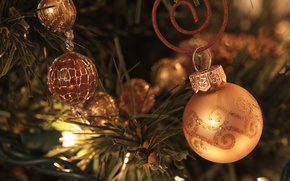 Picture decoration, holiday, toys, tree, garland