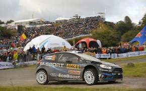 Picture Ford, Ford, Hirvonen, WRC, Rally, Rally, Fiesta, Fiesta