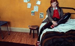 Picture photoshoot, Vogue, songwriter, Karen Elson, British singer
