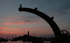 Picture landscape, photo, background, Wallpaper, the world, the evening, picture, Croatia, Rovinj