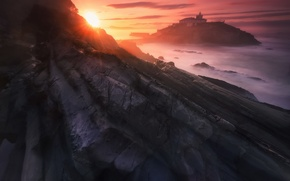 Picture Landscape, Sun, Mountain, Sunset, Beauty, View, Travel
