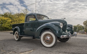 Picture pickup, the front, Model 38, Pickup, 1938, Willys-Overland