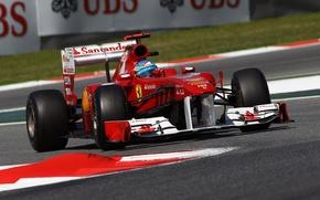Picture Ferrari, Formula1, 2011, Sepang, Alonso