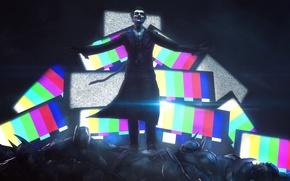 Wallpaper batman, Joker, fan art, DC Comics, Batman: Arkham Origins