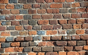 Picture background, wall, bricks