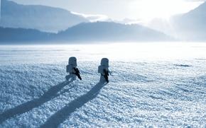 Picture macro, snow, star wars, lego star wars