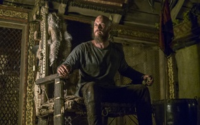 Picture the throne, Vikings, The Vikings, Travis Fimmel, Ragnar Lothbrok