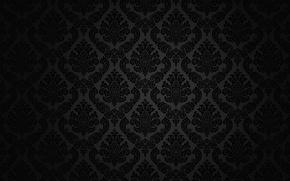 Picture retro, pattern, vector, dark, black, ornament, vintage, texture, vintage, background, pattern, gradient