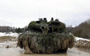 Picture weapons, Leopard, tank