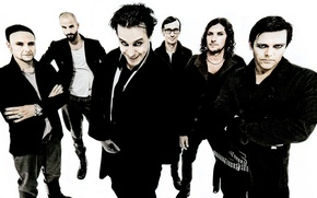 Picture group, Rammstein, Paul, Till, Christian, Oliver, Richard, Christoph