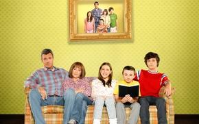 Picture the series, Comedy, Charlie McDermott, Eden Sher, Patricia Heaton, Atticus Shaffer, Neil Flynn, Eden Sher, …