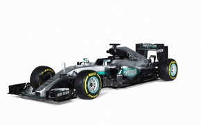 Wallpaper formula 1, background, the car, Formula 1, AMG, W07, Mercedes, Mercedes