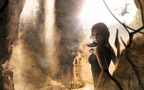 Picture Game, Lara Croft, Art, Game, Lara Croft, Rise of the Tomb Raider