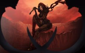 Picture Diablo 3, rpg, demon hunter, arbalet