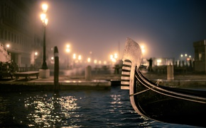 Wallpaper the evening, Venice, photo, photographer, gondola, Venice, Jamie Frith