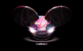 Picture Music, Smile, Eyes, Background, Electro House, Deadmau5, Mouse, Progressive House, Deadmaus, Ears