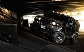 Wallpaper black, hammer, SUV, black, off road, Hummer