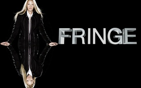 Picture the series, Face, Anna Torv, Movies, the main actress of this drama, on a black …