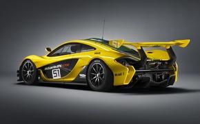 Picture McLaren, GTR, back, supercar, McLaren, 2015