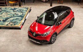 Picture Red, Auto, Renault, Captur, Hypnotic, 2016, Metallic