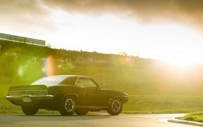 Picture the sun, Blik, Pontiac, rear, Pontiac, Firebird, Andrei Diomidov