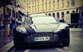 Picture the city, Aston Martin, Aston Martin, supercar, One-77