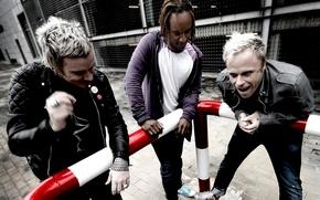 Wallpaper band, the prodigy, keith flint, liam howlett, maxim