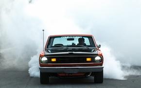 Picture Burnout, Dodge, Orange, Dart