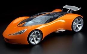 Wallpaper Hot wheels, the concept car, Lotus, orange, Roadster