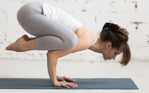 Picture pose, yoga, sportswear, elongation