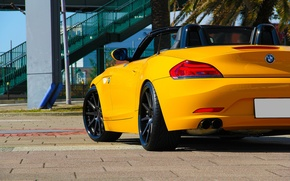 Picture BMW, yellow, tuning