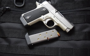 Picture gun, weapons, Kimber, Micro 380