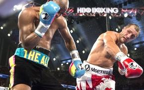 Picture Boxing, Bernard, Hopkins, Sergey Kovalev