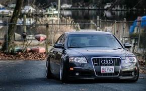 Picture Audi, sedan, stance