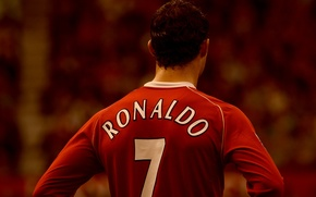 Picture football, sport, Manchester United, Ronaldo, clubs, ronaldo, manchester united