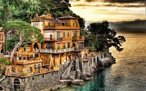 Picture coast, Italy, Portofino