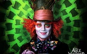 Wallpaper Alice in Wonderland, the film