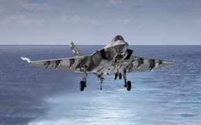Picture weapons, the plane, F-35C Lightning
