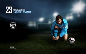 "Picture football, the ball, FC ""Zenit"", Sabolch Hust"