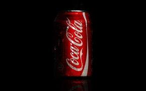 Picture drops, macro, coca-cola, Cola