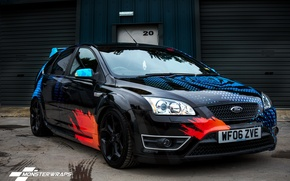 Picture ford, monster, focus, wraps