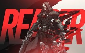 Picture Blizzard, Wallpaper, Game, Reaper, Overwatch