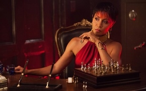 Picture Actress, The series, Gotham, Gotham, Fish Mooney, Jada Pinkett Smith, Fish Mooney, Jada Pinkett-Smith