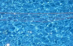 Wallpaper water, blue, pool