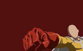Picture red, game, minimalism, anime, man, hero, asian, manga, japanese, gloves, oriental, asiatic, powerful, strong, muscular, …