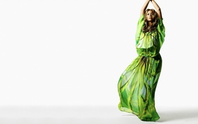 Picture green, music, singer, beyonce, Beyonce