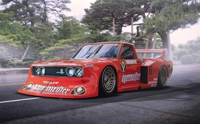 Picture Car, Race, Datsun, Tuning, Future, by Khyzyl Saleem, 620