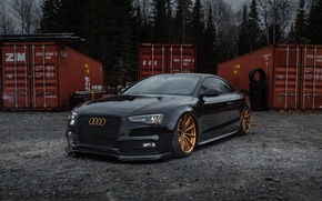 Picture Audi, One, Coupe, Forged, GT1, Piece, Forgeline, Monoblock, 5-Lug Wheels